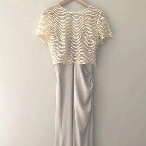 Full Length Long Badgley Mischka Gown Sz 6